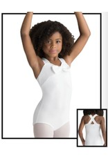 MOTIONWEAR 2958 GRAE ASPIRING BALLERINA WIDE CROSSING BOW FRONT TANK LEOTARD