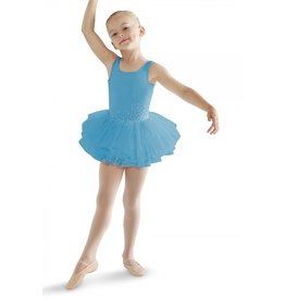 BLOCH & MIRELLA CL8215 CRYSTAL FLUTTER BOLORIA PANELLED TANK TUTU DRESS