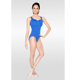 SO DANCA LN1733 CORA LONG TORSO OPEN X BACK TANK  LEOTARD