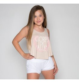 SUGAR & BRUNO D8963 CORPS DE BALLET LOOSE TANK TOP