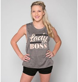 SUGAR & BRUNO D9046 BOSS LADY METRO TANK TOP
