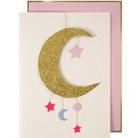 MERI MERI BABY GIRL MOBILE GREETING CARD