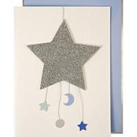 MERI MERI BABY BOY MOBILE GREETING CARD