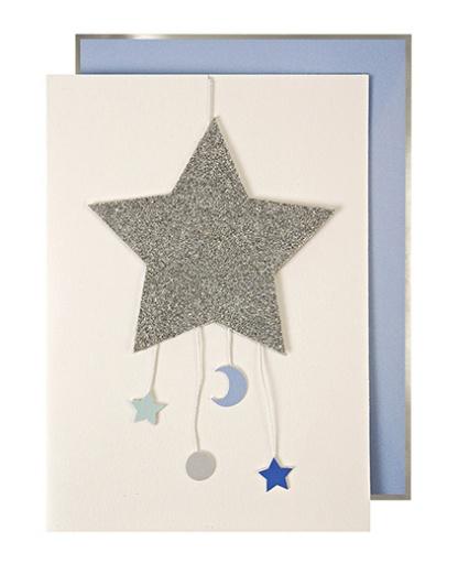 Meri meri baby boy mobile greeting card bellaboo meri meri baby boy mobile greeting card m4hsunfo