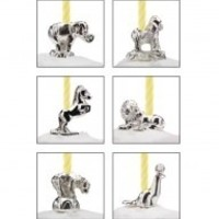 REED & BARTON CIRCUS ANIMALS CANDLE SET