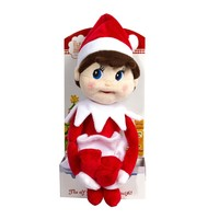 ELF ON THE SHELF THE ELF ON THE SHELF- PLUSHEE PAL GIRL
