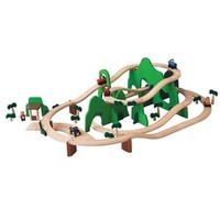 PLAN TOYS, INC. ROAD &amp; RAIL PLAYSET <br />