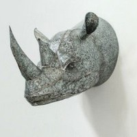 ONE HUNDRED 80 DEGREES ONE HUNDRED 80 DEGREE TIN WALL MOUNT RHINO