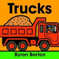 HARPER COLLINS PUBLISHERS TRUCKS BOARD BOOK