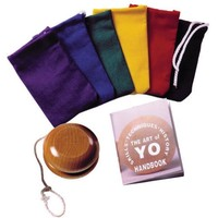 ART OF YO WITH COLOR CANVAS POUCH