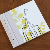 RAG & BONE BABY'S FIRST BOOK, YELLOW BABY GIRAFFE