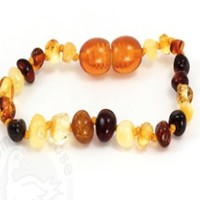 MOMMA GOOSE PRODUCTS MULTI AMBER BABY BRACELET