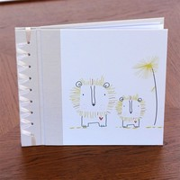 RAG & BONE BABY'S FIRST BOOK, YELLOW BABY LION