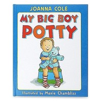 HARPER COLLINS PUBLISHERS MY BIG BOY POTTY