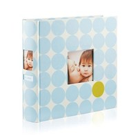 PEARHEAD PEARHEAD BLUE DOTS SIDE PHOTO ALBUM