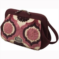 PETUNIA PICKLE BOTTOM PETUNIA PICKLE BOTTOM CAKE CAMEO CLUTCH IN PLUM TART CAKE
