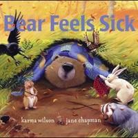 SIMON & SCHUSTER BEAR FEELS SICK BOARD BOOK