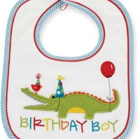 MUD PIE BIRTHDAY BOY BIB