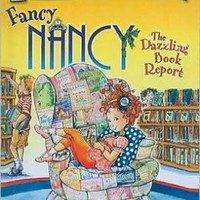 HARPER COLLINS PUBLISHERS FANCY NANCY THE DAZZLING BOOK REPORT