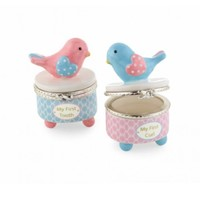 MUD PIE MUD PIE LITTLE CHICK TOOTH & CURL SET