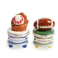 MUD PIE MUD PIE SPORTS TOOTH & CURL SET