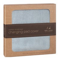 ADEN + ANAIS ADEN & ANAIS MOONLIGHT SOLID GREY BAMBOO CHANGING PAD COVER