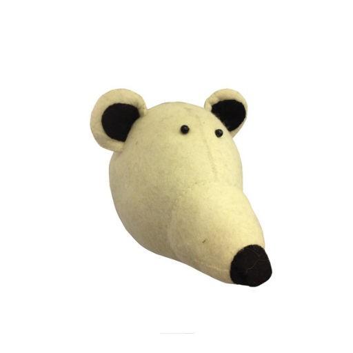 FIONA WALKER FIONA WALKER ENGLAND POLAR BEAR HEAD WALL DECOR - BellaBoo
