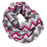 ITZY RITZY NURSING HAPPENS- PINK KISS CHEVRON
