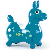 TOYMARKETING INC RODY HORSE-TEAL