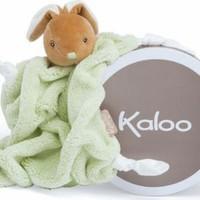 KALOO KALOO DOUDOU GREEN RABBIT