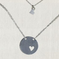 """SWOON PIECE OF MY HEART 20"""" NECKLACE"""