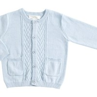 ANGEL DEAR ANGEL DEAR CABLE KNIT CARDIGAN