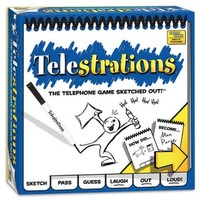 CONTINUUM GAMES TELESTRATIONS - THE TELEPHONE GAME SKETCHED OUT!