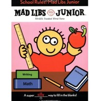 CONTINUUM GAMES SCHOOL RULES MAD LIBS JUNIOR GAME
