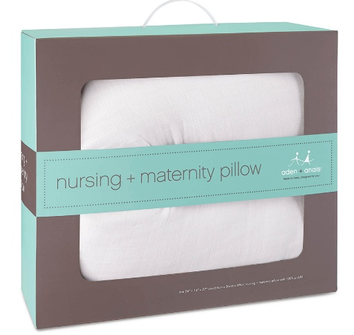 ADEN + ANAIS ADEN & ANAIS WHITE NURSING PILLOW