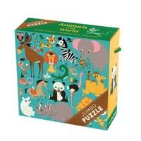 GALISON MUDPUPPY ANIMALS OF THE WORLD JUMBO PUZZLE