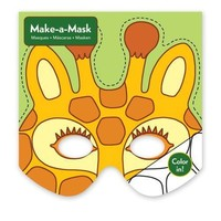 GALISON MUDPUPPY JUNGLE ANIMALS MAKE A MASK
