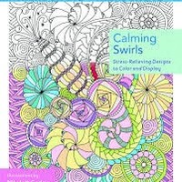 MPS ZENDOODLE POCKET COLORING CALMING SWIRLS