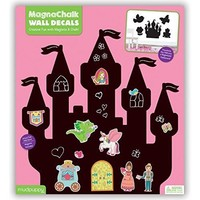 GALISON MUDPUPPY PRINCESS MAGNACHALK WALL DECALS