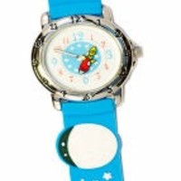 THE KIDS WATCH COMPANY BLUE SUN AND MOON WATCH