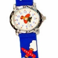 THE KIDS WATCH COMPANY BLUE HELICOPTER WATCH