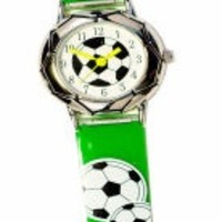 THE KIDS WATCH COMPANY GREEN SOCCER WATCH