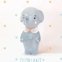 OOPSY DAISY PAPER MACHE ELEPHANT BOY