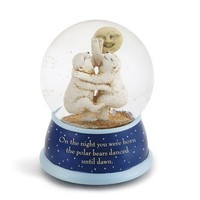 DEMDACO POLAR BEARS WATER GLOBE