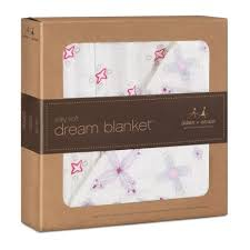 ADEN + ANAIS ADEN & ANAIS FLOWER CHILD PINWHEEL SILKY SOFT BAMBOO DREAM BLANKET