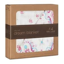 ADEN + ANAIS ADEN & ANAIS FLOWER CHILD KALEIDOSCOPE SILKY SOFT BAMBOO DREAM BLANKET