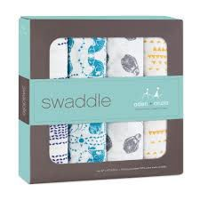 ADEN + ANAIS ADEN & ANAIS KINDRED 4-PACK CLASSIC SWADDLE