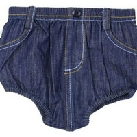 RUFFLEBUTTS, INC. RUGGED BUTTS 2-POCKET DENIM BLOOMER