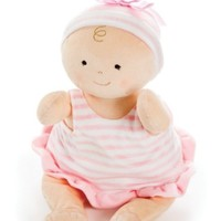 "NORTH AMERICAN BEAR COMPANY 15"" PINK ROSY CHEEKS BABY RUFFLE"