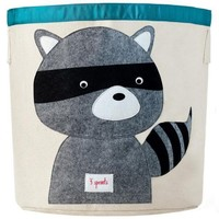 3 SPROUTS 3 SPROUTS RACCOON STORAGE BIN